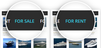 Yacht Listings For Sale & For Rent