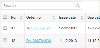Invoicing module