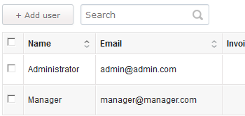 Invoicing Script With Different Users