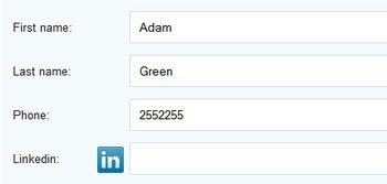 LinkedIn Reference