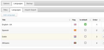 multilingual news widget