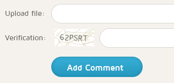 PHP Comment Box with Captcha Protection