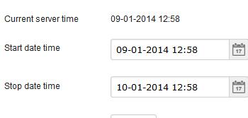 Online poll scheduling