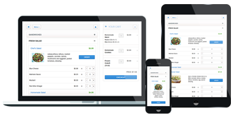 Mobile-friendly food ordering script