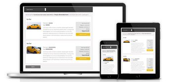 Taxi script with responsive UI