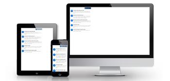 responsive news widget