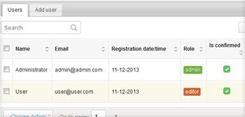 Multi user login