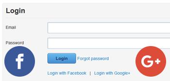 Social login function
