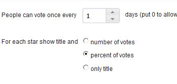 Star Rating Script Prevents Multiple Voting