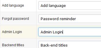 Calendar Script with Language Module