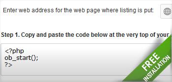 Easy Installation Directory Script