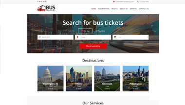 Create a Bus Booking Website