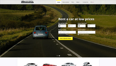 Create Your Car Rental Website!