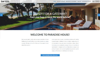 Create a Website for Your Holiday Rental Property!