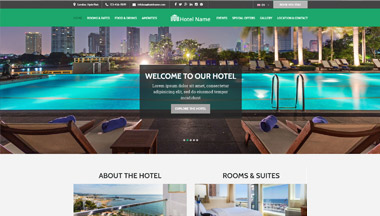Create your Hotel Website!