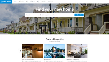 Create a website for your real estate agency!