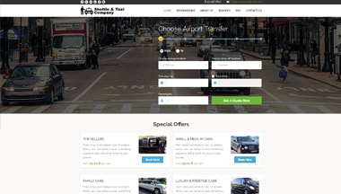 Create your private or shared shuttle transfer website!