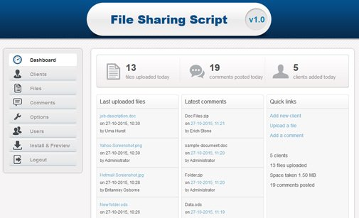 File Sharing Manager