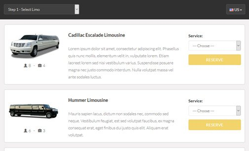 Limo Booking Software