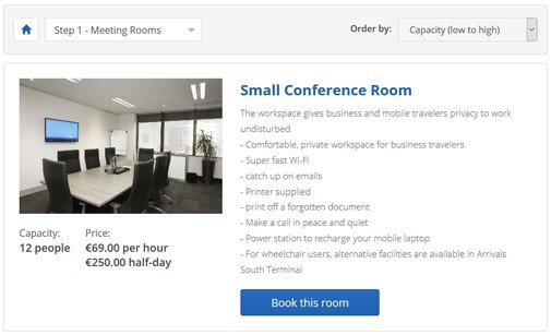 Meeting Room Booking System | Room Scheduling Software | PHPJabbers