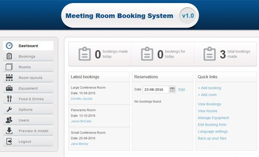 Meeting Room Booking System Room Scheduling Software