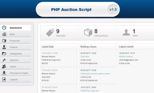 Online bidding system