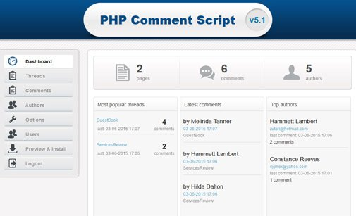 Post Comment Script