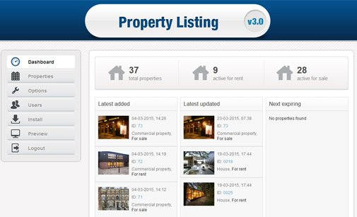 Real Estate Listing Script