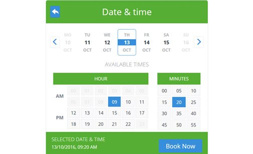 Service scheduling software