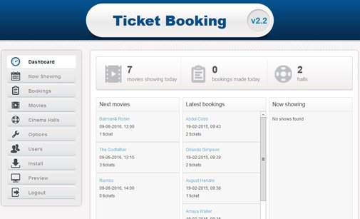 Ticket Booking System