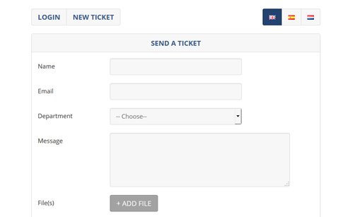 Ticket Support Script