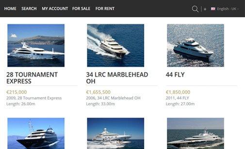 Yacht Listing Script