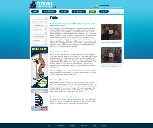 eCommerce Website Template 101