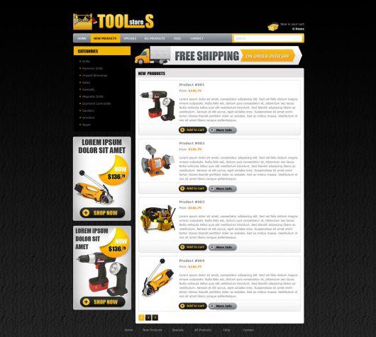 eCommerce Website Template 104