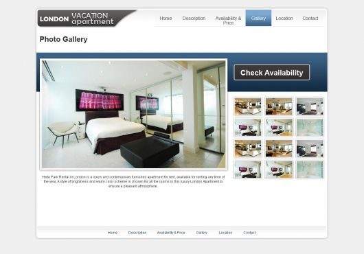 Holiday Home Website Template 13