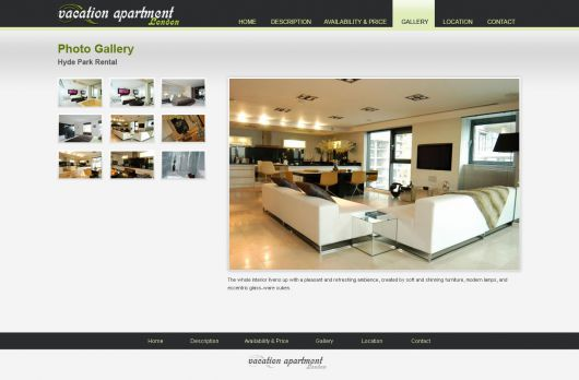 Vacation Rental Website Template 15