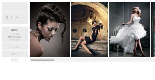 Photography Website Template 153