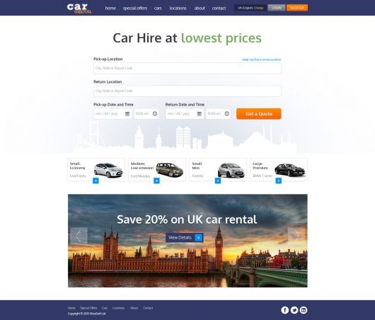 Car Rental Template 184