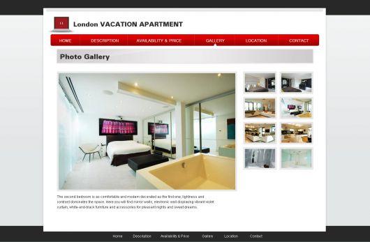 Vacation Rental Website Template 20