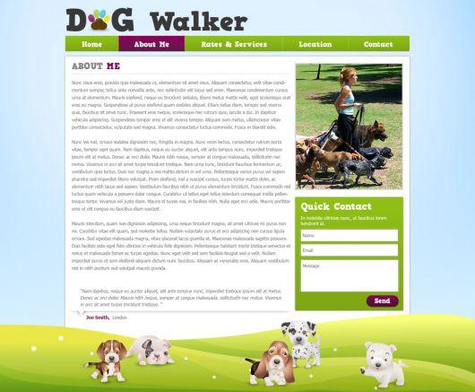 Dog Walker Template 42