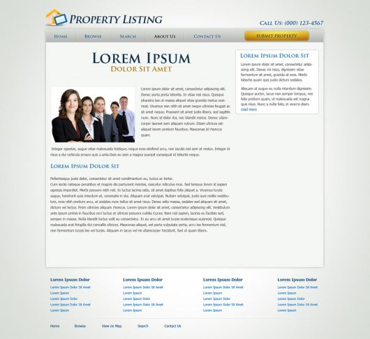 Real Estate Website Template 61