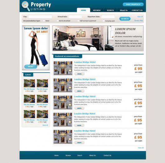 Real Estate Website Template 62