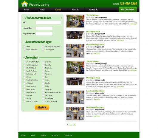 Real Estate Website Template 63
