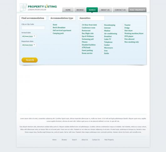 Real Estate Website Template 67