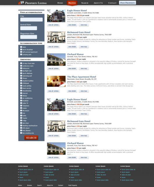 Real Estate Website Template 68
