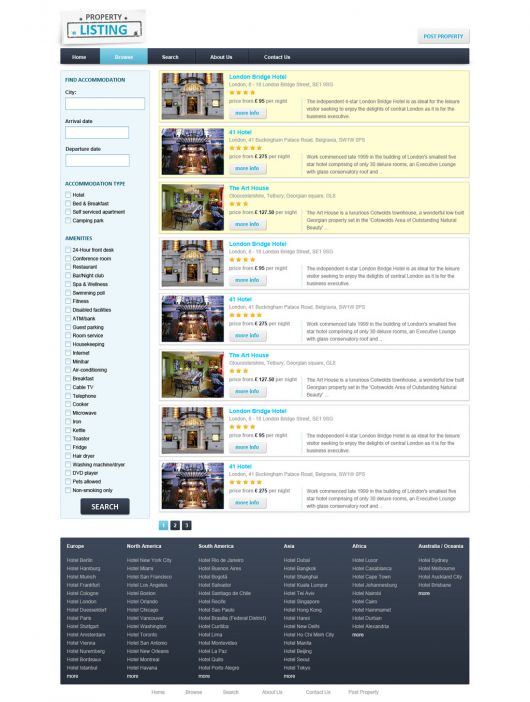 Real Estate Website Template 69