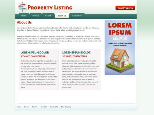 Real Estate Website Template 71