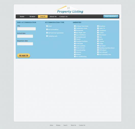 Real Estate Website Template 76