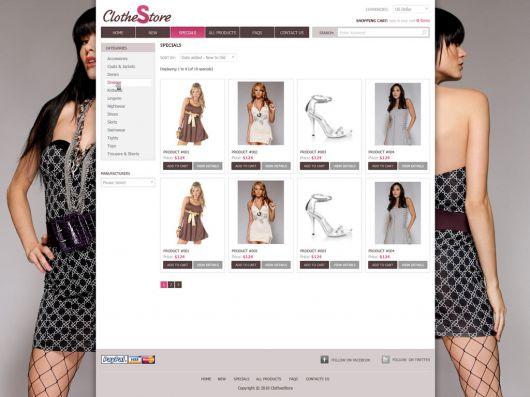 Fashion Website Template 82