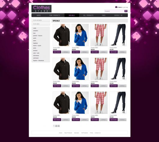 Shopping Website Template 94